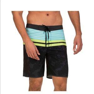 Men's Hurley Phantom Striped Aloha Board Shorts